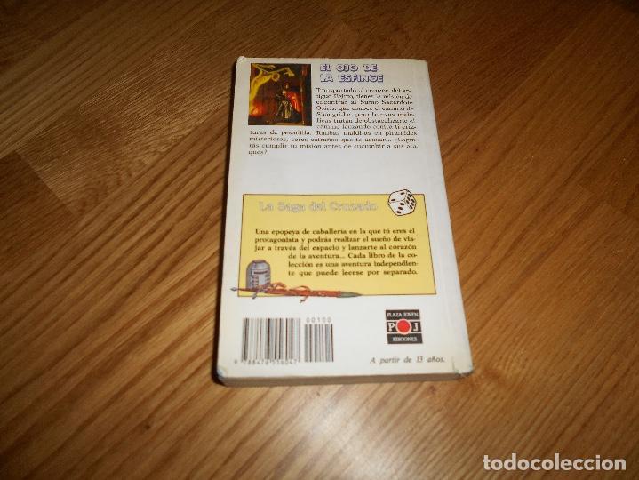 Libros de segunda mano: EL OJO DE LA ESFINGE - LA SAGA DEL CRUZADO N°2 - PLAZA JOVEN - Foto 8 - 131737030