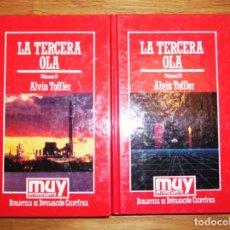 Libros de segunda mano: TOFFLER, ALVIN. LA TERCERA OLA (MUY INTERESANTE. BIBLIOTECA DE DIVULGACIÓN CIENTÍFICA ; 9, 10). Lote 131862218