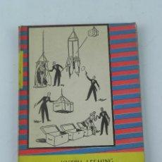 Libros de segunda mano: LIBRO JUEGOS DE MANOS Y MAGIA BLANCA. POR JOSEPH LEEMING. TRADUCCIÓN DE FARRÁN Y MAYORAL. EDITORIAL . Lote 131896970