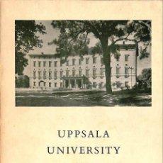 Libros de segunda mano: UPPSALA UNIVERSITY LIBRARY. HISTORICAL NOTES GUIDE TO THE EXHIBITS --REF-5ELLCAR. Lote 131941446