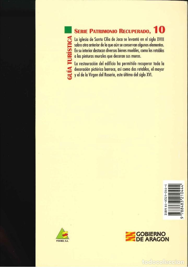 Libros de segunda mano: IGLESIA PARROQUIAL DE SANTA CILIA DE JACA - Foto 2 - 131980482
