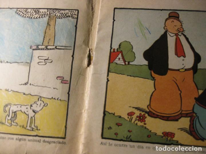 Libros de segunda mano: cuaderno para colorear pintar la filosofia de popeye ed molino . nº 27 - Foto 2 - 132009678