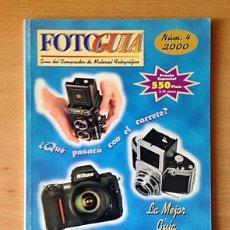 Libros de segunda mano: FOTO GUIA - GUIA DE FOTOGRAFIA - Nº4 - 2000. Lote 132031366