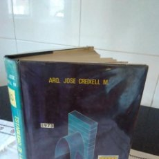 Libros de segunda mano: 7-ESTABILIDAD DE LAS CONSTRUCCIONES, 1973, JOSE CREIXELL M.. Lote 132179658