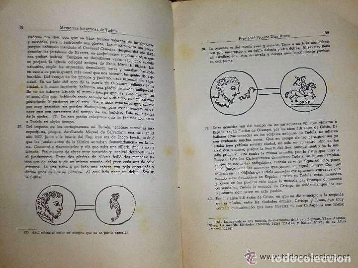 Libros de segunda mano: MEMORIAS HISTÓRICAS DE TUDELA. - Foto 5 - 132204906