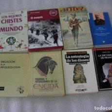 Libros de segunda mano: LA ESTRATEGIA DE LOS DIOSES - LA OCTAVA MARAVILLA (CG3). Lote 132223522