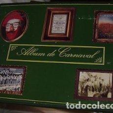 Libros de segunda mano: ÁLBUM DE LÁMINAS DEL CARNAVAL DE CÁDIZ, ENCUADERNADO EN TAPAS DURAS, DIARIO DE CÁDIZ, 1996. Lote 132235170
