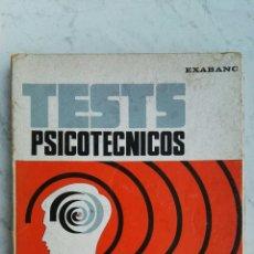 Libros de segunda mano: TESTS PSICOTÉCNICOS ESPECIAL PARA OPOSICIONES. Lote 132244034