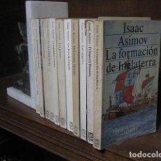Libros de segunda mano: HISTORIA UNIVERSAL. 11 TOMOS - ASIMOV, ISAAC. Lote 198803126