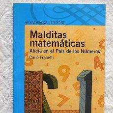 Libros de segunda mano - Malditas matemáticas: Alicia en el país de los números - Carlo Frabetti - Ediciones Alfaguara - 132252158