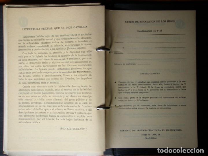 Libros de segunda mano: LIBRO EDUCACION DE LOS HIJOS 1963 - Foto 8 - 132317082