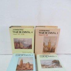 Libros de segunda mano: ANTONIO PONZ. VIAJE DE ESPAÑA 1,2,,3,4. TOMOS I -IV. TOMOS V-VIII. TOMOS IX-XIII. TOMOS XIV-XVIII. . Lote 132440330