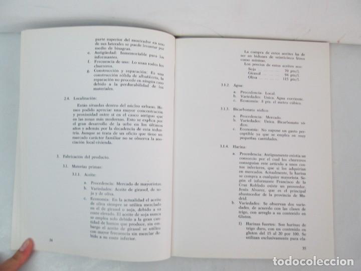 Libros de segunda mano: OFICIOS TRADICIONALES EN MADRID. LA CHURRERIA. MATILDE CUEVAS DE LA CRUZ. DIPUTACION DE MADRID - Foto 11 - 132464002