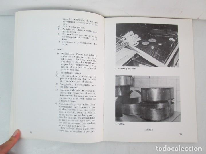 Libros de segunda mano: OFICIOS TRADICIONALES EN MADRID. LA CHURRERIA. MATILDE CUEVAS DE LA CRUZ. DIPUTACION DE MADRID - Foto 12 - 132464002