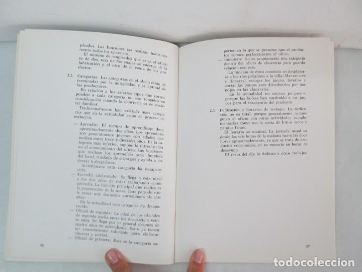 Libros de segunda mano: OFICIOS TRADICIONALES EN MADRID. LA CHURRERIA. MATILDE CUEVAS DE LA CRUZ. DIPUTACION DE MADRID - Foto 15 - 132464002