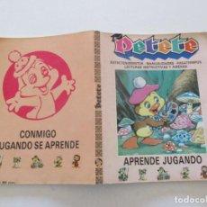 Libros de segunda mano: PETETE: APRENDE JUGANDO. REVISTAS Nº 60 A 67. RMT87756. Lote 132489246
