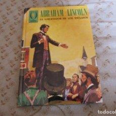 Libros de segunda mano: ABRAHAM LINCOLN - EL LIBERTADOR DE LOS ESCLAVOS - TORAY 1977 - CON ILUSTRACIONES. Lote 132555282