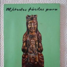 Libros de segunda mano: METODOS FACILES PARA DECORAR FIGURAS DE ESCAYOLA. 38 PAGINAS. ESCRIBE Y EDITA M. VAZQUEZ LOPEZ. 70 G. Lote 132633062