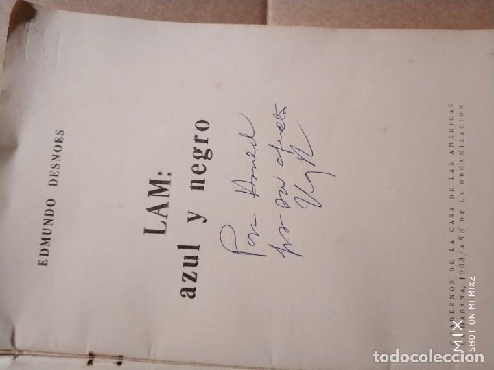 Libros de segunda mano: EDMUNDO DESNOES DESNUDO LAM AZUL Y NEGRO (1.000 ejemplares) - Foto 2 - 132769590