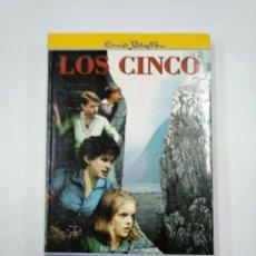Libros de segunda mano: LOS CINCO EN EL CERRO DEL CONTRABANDISTA. Nº 4. ENID BLYTON. TDK352. Lote 133000542