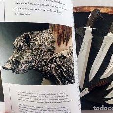 Livres d'occasion: ELADIO MUELA. VOLUNTAD DE ACERO : CUCHILLOS. NAVAJAS. MACHETES. (COMERCIAL MUELA. ARMAS DE CAZA.. Lote 133001826