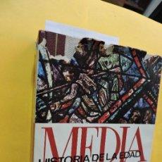 Libros de segunda mano: HISTORIA DE LA EDAD MEDIA TOMO II. REGLA CAMPISTOL, JUAN. ED. MONTANER Y SIMÓN. BARCELONA 1969. Lote 133002046