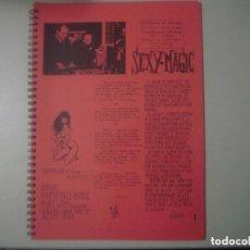 Libros de segunda mano: LIBRERIA GHOTICA. SEXY MAGIC. 1973. RARO LIBRO DE MAGIA. FOLIO. MUY ILUSTRADO.. Lote 133011374