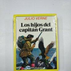 Libros de segunda mano: LOS HIJOS DEL CAPITAN GRANT. JULIO VERNE. COLECCION HISTORIAS INFANTIL BRUGUERA Nº 4. TDK59. Lote 133039302