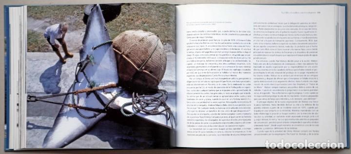 Libros de segunda mano: Chimán. La pesca ballenera moderna en la península Ibérica. Alex Aguilar. Ballena. Cachalote.Galicia - Foto 5 - 195153005