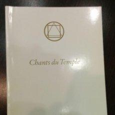 Libros de segunda mano: CHANTS DU TEMPLE / USSAT-LES-BAINS (2006). Lote 133064982