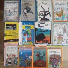Libros de segunda mano: LOTE DE 12 LIBROS DE LA ESCUELA PRIMARIA-ESCOLA PIA-SITGES-AÑOS 80 Y 90. Lote 133123282