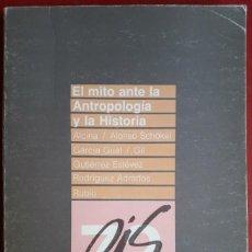 Gebrauchte Bücher - VV. AA. . El mito ante la antropología y la historia - 133133510