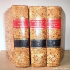 Libros de segunda mano: MANUAL DE HISTORIA DE ESPAÑA - P.AGUADO BLEYE - AÑO 1969 - PLENA PIEL·EXCEPCIONAL.. Lote 133142234