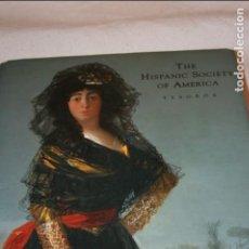 Libros de segunda mano: THE HISPANIC SOCIETY OF AMERICA. TESOROS- 485 PÁGINAS, 189 FOTOGRAFIAS. ESPAÑOL/ INGLES. Lote 133164914