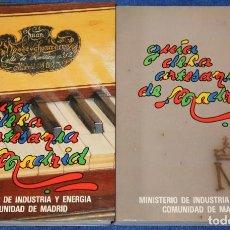 Libros de segunda mano: GUÍA DE LA ARTESANÍA DE MADRID - MINISTERIO DE INDUSTRIA Y ENERGÍA. Lote 133177706