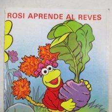 Libros de segunda mano: ROSI APRENDE AL REVÉS. PLAZA JÓVEN. P J EDICIONES. 1986. Lote 133189190