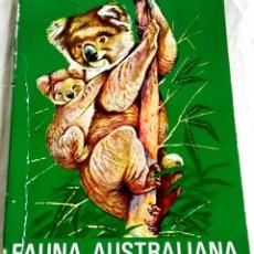 Libros de segunda mano: ÁREA - 5 FAUNA, ANIMALES EN AUSTRALIA - EDITORIAL TIMUN MAS 1975. Lote 133201494