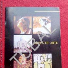 Libros de segunda mano: TUBAL CATALOGO MOLERO 21 CM 250 GRS 32 PGS . Lote 133212082