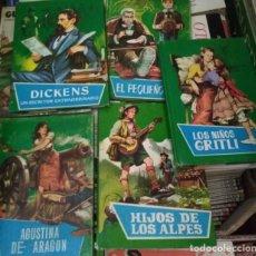 Libros de segunda mano: LOTE DE 5 NUMEROS O LIBROS, COLECCION JUVENIL, ESPASA SOPENA CHACO, EDITORIAL FERMA 1966. Lote 133262034