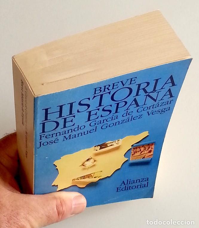 Libros de segunda mano: Breve historia de España - Fernando García de Cortázar - Foto 3 - 133525114