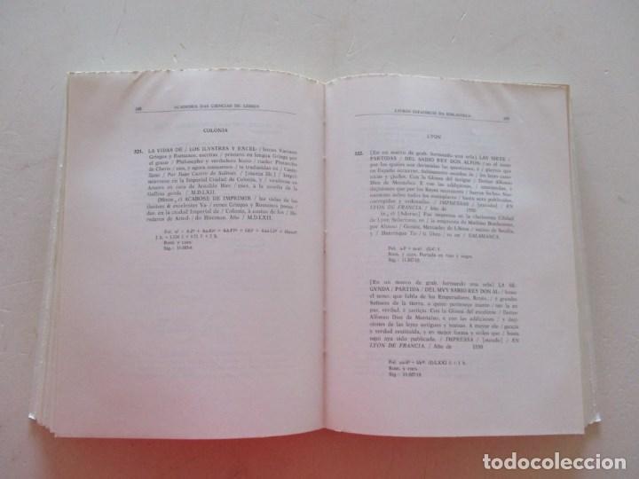 Libros de segunda mano: Livros Quinhentistas Espanhóis da Biblioteca da Academia Das Ciências de Lisboa. RM87899 - Foto 4 - 133579498