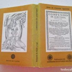 Libros de segunda mano: FERNANDO DE SANDE Y LAGO COMPENDIO DE ALBEYTERÍA....RM87905. Lote 133581174