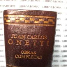 Libros de segunda mano: JUAN CARLOS ONETTI - OBRAS COMPLETAS - AGUILAR - EDICION NUMERADA - N° 4327. Lote 133587778