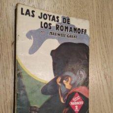 Libros de segunda mano: LAS JOYAS DE LOS ROMANOFF. MAXWELL GRANT. COL. HOMBRES AUDACES Nº 83. MOLINO. 1945. Lote 133593514