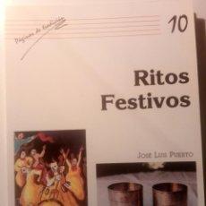 Libros de segunda mano: RITOS FESTIVOS. JOSÉ LUIS PRIETO. CENTRO DE CULTURA TRADICIONAL. DIPUTACIÓN DE SALAMANCA. 1990. Lote 133595558