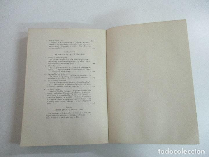 Libros de segunda mano: Jesús Pabón - El Drama de Mosén Jacinto - Ed Alpha - Prologo Duque de Maura - Año 1954 - Foto 7 - 133604490