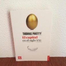 Libros de segunda mano: EL CAPITAL EN EL SIGLO XXI - THOMAS PIKETTY - FONDO DE CULTURA ECONÓMICA. Lote 155950936