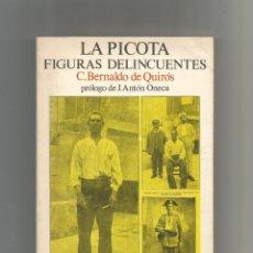 Libros de segunda mano: LA PICOTA. CRÍMENES Y CASTIGOS EN EL PAÍS CASTELLANO EN LOS TIEMPOS MEDIOS. Y FIGURAS DELINCUENTES.. Lote 133636890