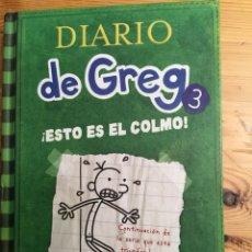 Libros de segunda mano: DIARIO DE TREG 3. ¡ESTO ES EL COLMO!. Lote 133681025