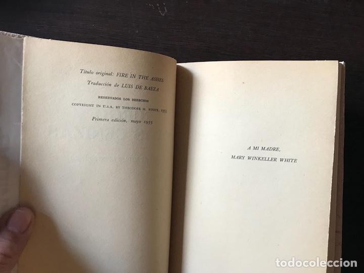 Libros de segunda mano: Fuego en las cenizas. Europa al mediar nuestro siglo. Theodore H. White. 1ª edición 1.955 - Foto 4 - 133758254